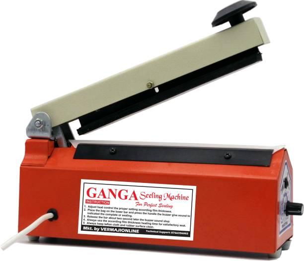 Ganga Packing Machine 8 Inches Poly Bag Heat Sealing Machine Table Top Heat Sealer