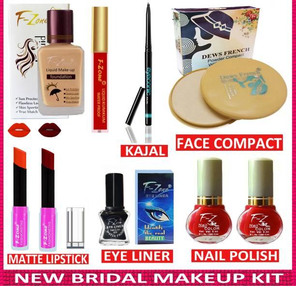 F-Zone Bridal Makeup Kit Of 9 Items @09