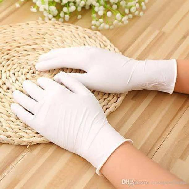 DM India -Latex Surgical Gloves Medical Grade Hand Protection Rubber Glove for Hospital, Clinic, Sanitary & Kitchen Latex Examination Gloves