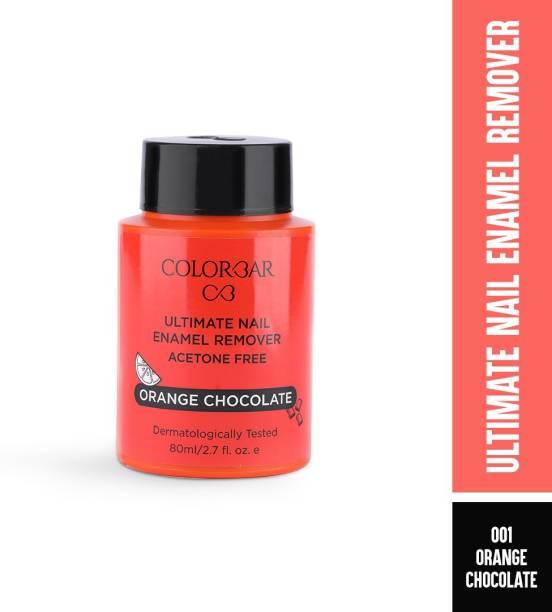 COLORBAR Ultimate Nail Enamel Remover-80Ml-Orange Chocolate- 001