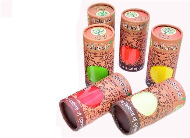 GT Holi Color Powder Pack of 6