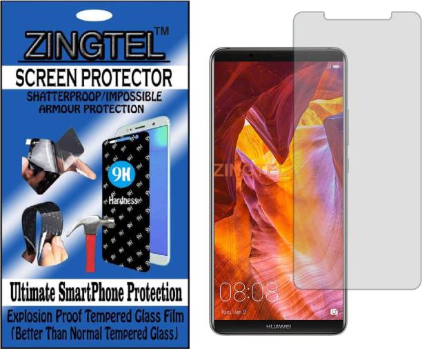 ZINGTEL Tempered Glass Guard for HUAWEI MATE 10 PRO (Flexible, Unbreakable)