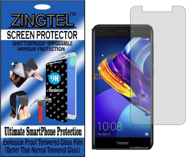 ZINGTEL Tempered Glass Guard for HUAWEI HONOR 6C PRO (Flexible, Unbreakable)