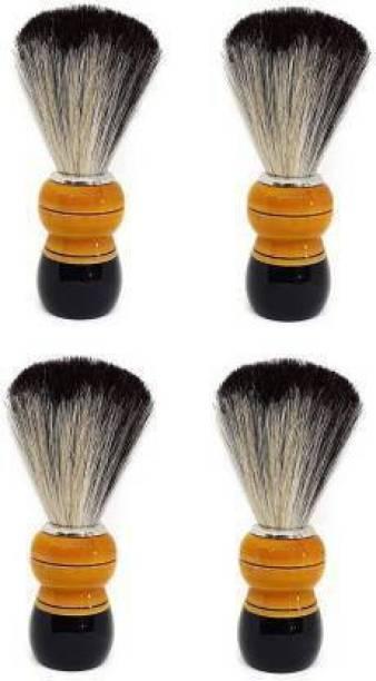 AANU  for Men Salon Accessories for Men and Boys Set of 4 Pcs Shaving Brush