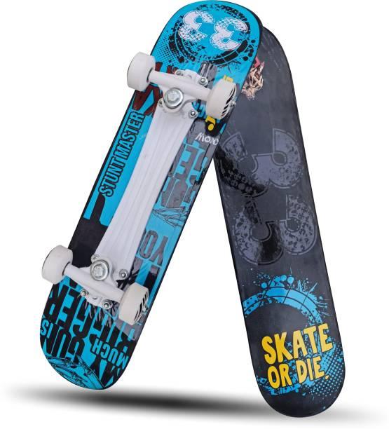 "Jaspo Stunt Master 27""x 7"" Wooden Skateboard 27 inch x 7 inch Skateboard"