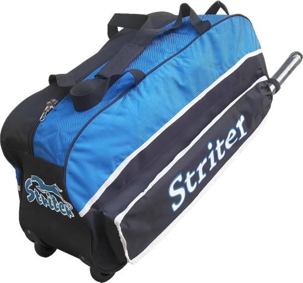 Giftadia 30 Inch Cricket/Hockey/Football/Travel Trolley Kit Bag-Blue