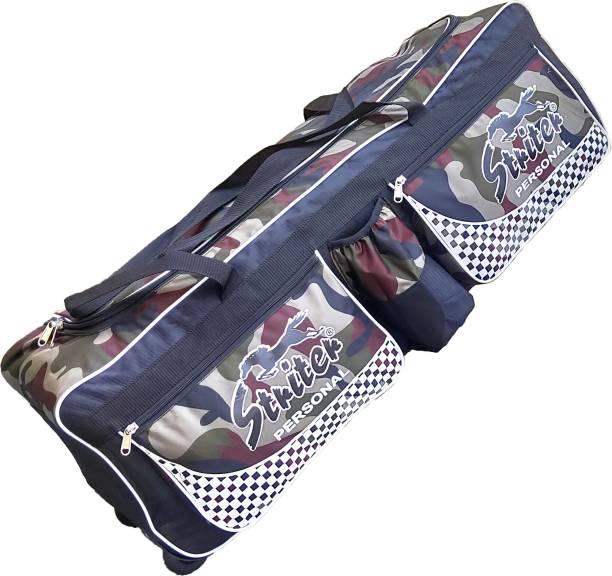 Giftadia 36 Inch Cricket/Hockey/Football/Travel Trolley Kit Bag With Wheels-Green