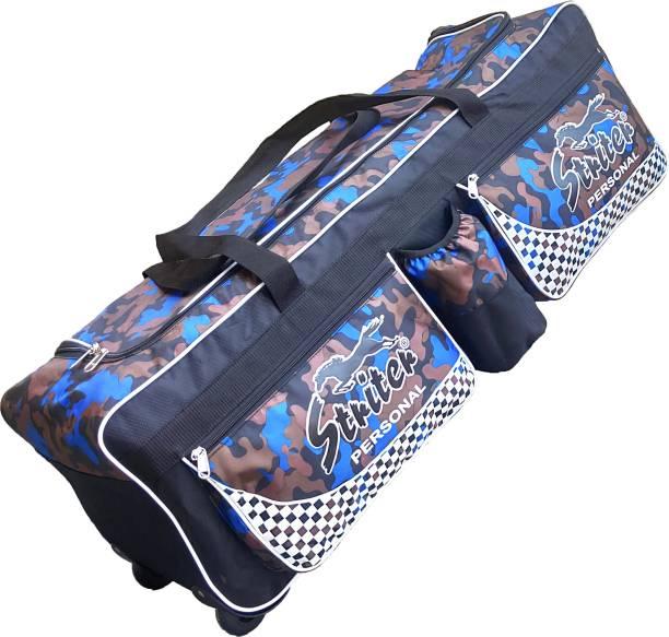 Giftadia 36 Inch Cricket/Hockey/Football/Travel Trolley Kit Bag With Wheels-Blue
