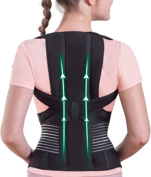 ZCAREPHARMA Posture Corrector Back Support Brace Metallic Therapy back support belt Back & Abdomen Support