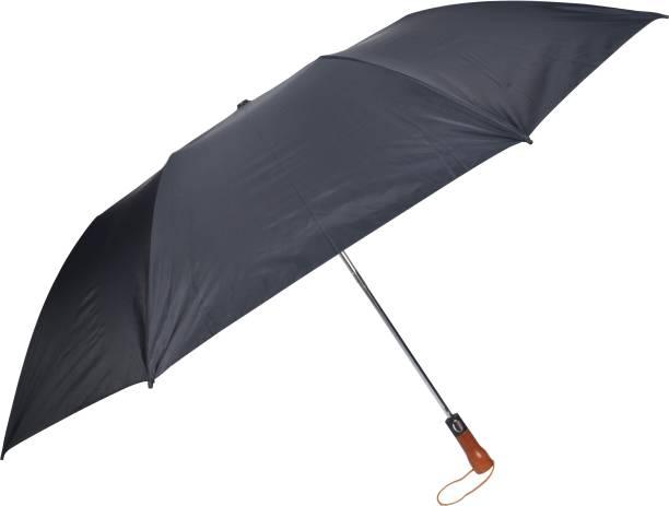 Fendo 2 Fold Black silver 2 person Umbrella