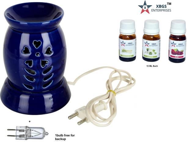 XBGS ENTERPRISES Lemongrass, Jasmine, Rose Aroma Oil, Diffuser, Diffuser Set, Potpourri