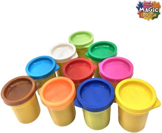Sterling Magic Dough 10 Colour (50gms)