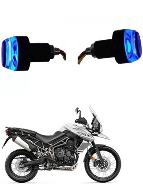 THE ONE CUSTOM HANDLE LIGHT BLUE WHITE 133 Bike Handlebar Weights