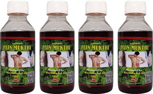 Sozo Pain Mukthi Oil( each 100ml) - Set of 4 Liquid