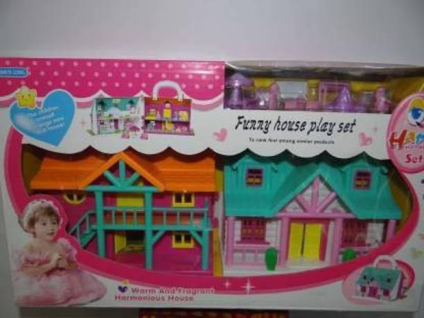 Tenmar Princess oll House/ Play Set for Girls (Multicolor)
