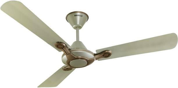 HAVELLS Leganza Bronze Gold 1200 mm 3 Blade Ceiling Fan