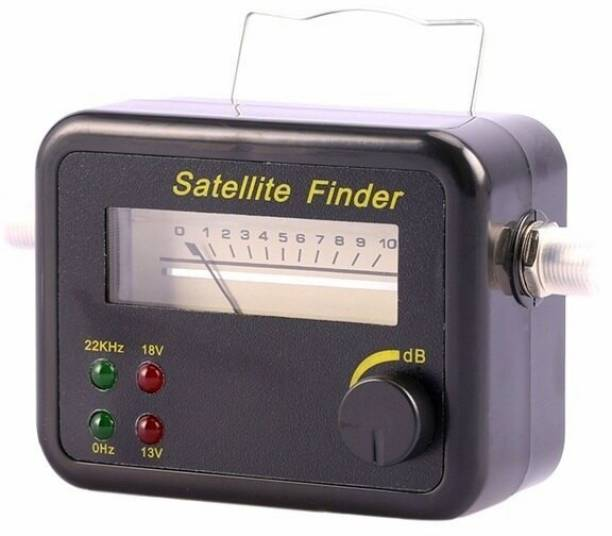 GoodsBazaar J9001 Sf45 Sf45 New Arrival Satellite Signal Finder for All Dish TVs Gain Measuring DB Meter Black Colour Mini LCD Display Satellite Signal Finder Meter Tester With Excellent Sensitivity Satellite TV Receiver for Free to Air/Dish Network/Direct TV/Satellite TV Analog Voltage Tester