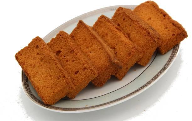 Biskutwala Old Delhi's Famous Fresh Crispy Soft Egg Cake Rusks Fresh Sweet Crispy Soft Egg Cake Rusks flavored Cake Rusk
