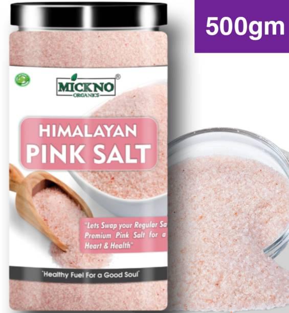 mickno organics 500 Gm Himalayan Pink Rock Salt powder Organic for Weight loss ( imported ) Himalayan Pink Salt Himalayan Pink Salt