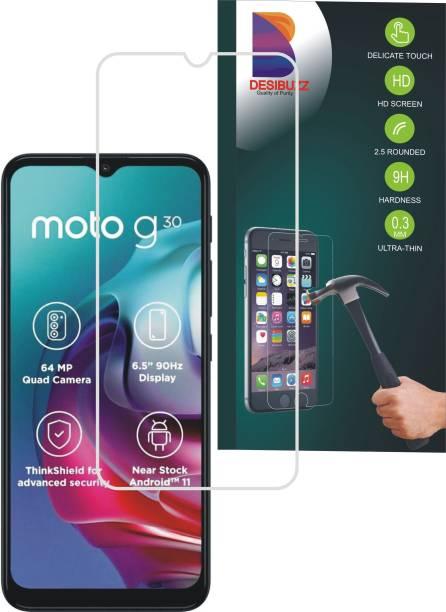 DESIBUZZ Impossible Screen Guard for MOTOROLA G30, Moto G30