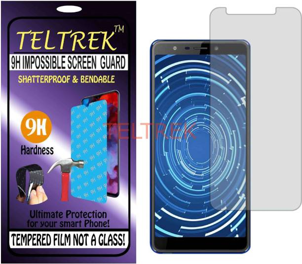 TELTREK Tempered Glass Guard for PANASONIC RAY 530 (Flexible, Unbreakable)