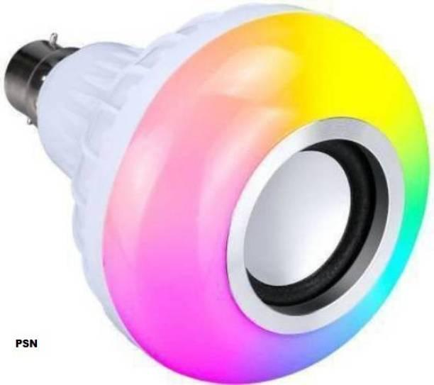 EvaaHub SMART LED BULB , 5 W bluetooth Sterio Speaker For Home Party Decoration, Birthday Celibration Night Light Smart Bulb