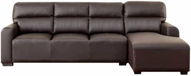 AMRUTA Leatherette 5 Seater  Sofa
