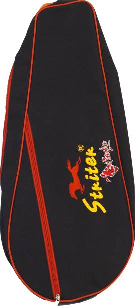 Giftadia 2 Badminton Or 1awn Tennis Racquets Rackets Kit Bag Cover-Black