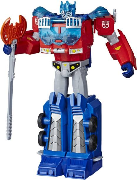 TRANSFORMERS Toys Cyberverse Ultimate Optimus Prime Action Figure, For Kids Ages 6 and Up