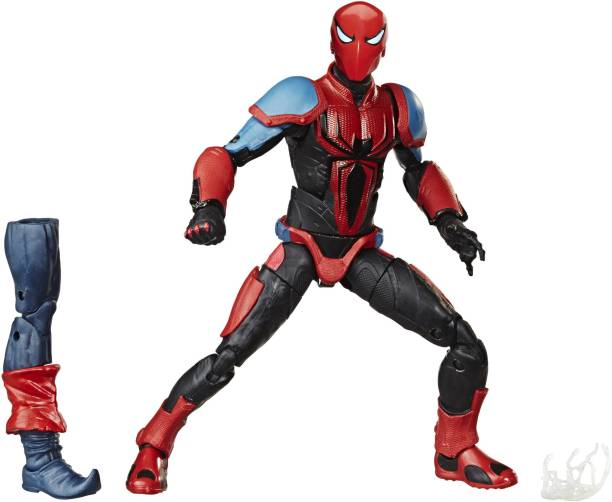 MARVEL Legends Series 6-inch Collectible Action Figure Spider-Armor MK III Toy With Build-A-Figure Piece