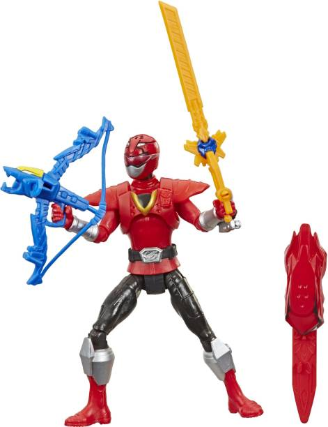 Power Rangers Beast Morphers Beast-X Red Ranger 6-inch Action Figure Toy inspired by the TV Show