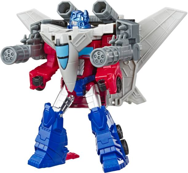 TRANSFORMERS Toys Cyberverse Spark Armor Optimus Prime Action Figure - For Kids Ages 6 and Up, 5.75-inch