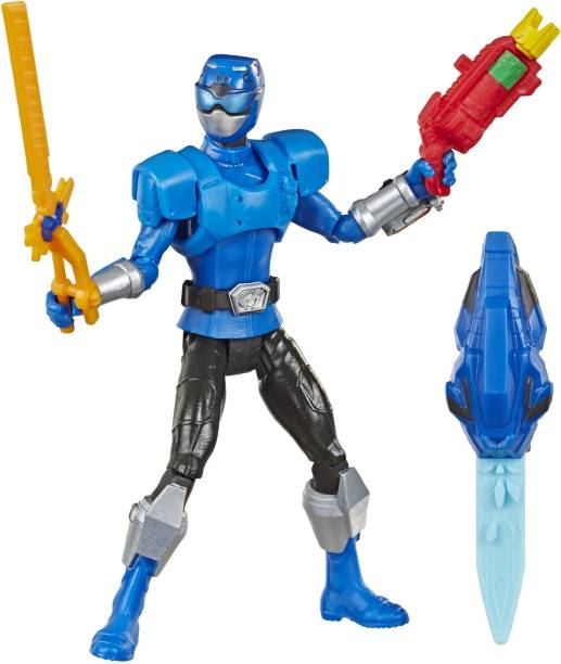 Power Rangers Beast Morphers Beast-X Blue Ranger 6-inch Action Figure Toy inspired by the TV Show