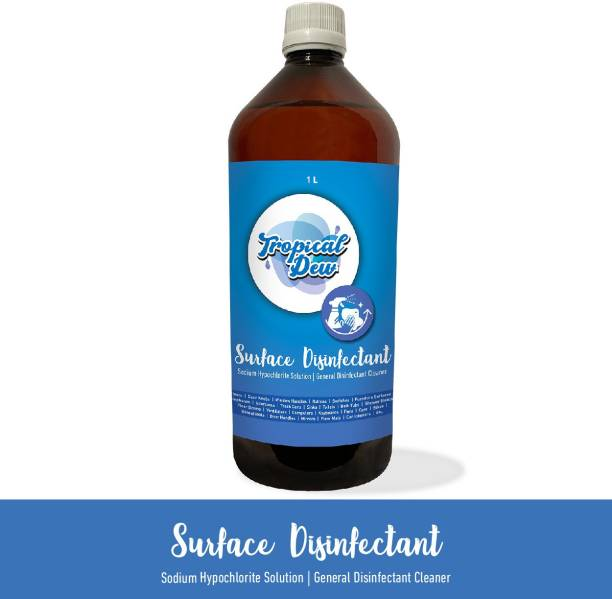 Tropical Dew Sodium Hypochlorite Liquid Multi-Surface Disinfectant Soliution for Wiping,Moping