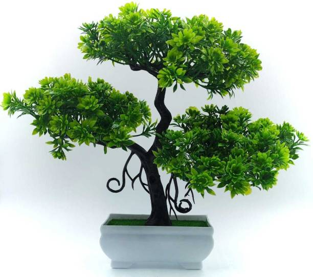 revcart Bonsai Wild Artificial Plant  with Pot