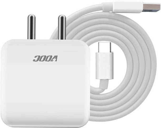 RoxxY FLASH CHARGER WITH TYPE C CABLE 30 W 4 A Mobile Charger with Detachable Cable