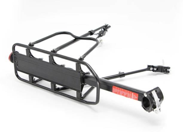 RESHNE Aluminum Adjustable Bicycle Rear Rack 110 Lbs Capacity Aluminium Bicycle Carrier Aluminium  Bicycle Carrier