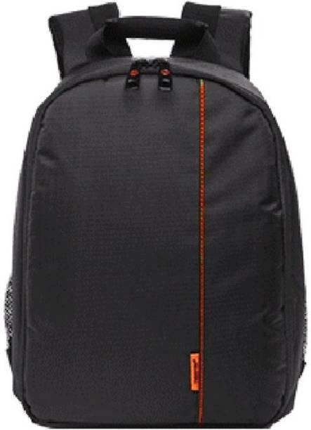 hi guys DSLR SLR Camera Lens Shoulder Backpack Case for Canon Nikon Sigma Olympus Camera Bag (Orange) Camera Bag Camera Bag  Camera Bag