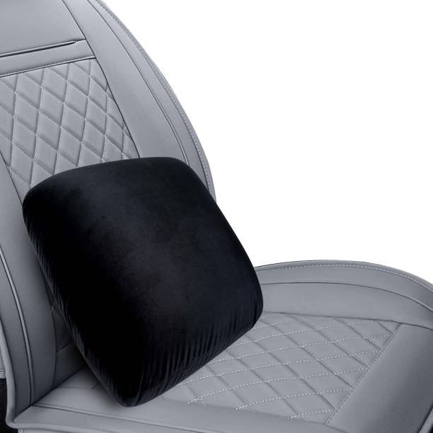 GoMechanic Black Memory Foam Car Pillow Cushion for Universal For Car