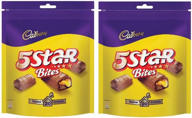 Cadbury 5 Star Chocolate Home Treats Bars