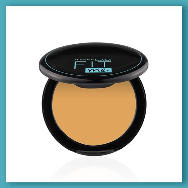 MAYBELLINE NEW YORK Fit Me Shade 230 Compact Powder, 8g - Powder that Protects Skin from Sun, Absorbs Oil, Sweat and helps you to stay fresh for upto 12Hrs Compact