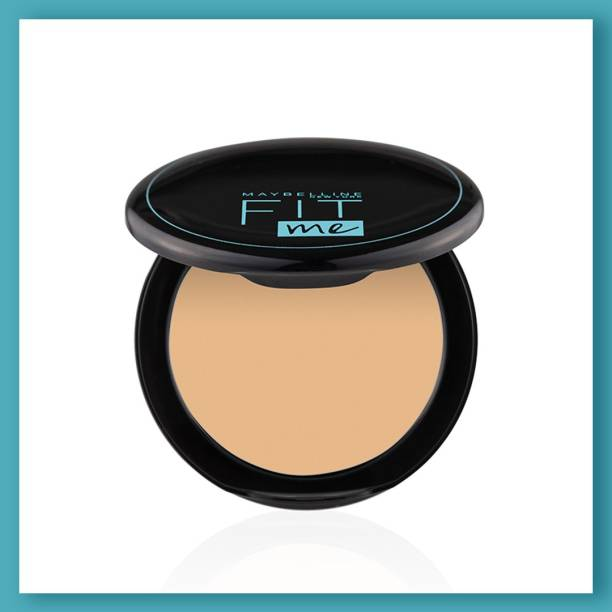 MAYBELLINE NEW YORK Fit Me Shade 128 Compact Powder, 8g - Powder that Protects Skin from Sun, Absorbs Oil, Sweat and helps you to stay fresh for upto 12Hrs Compact