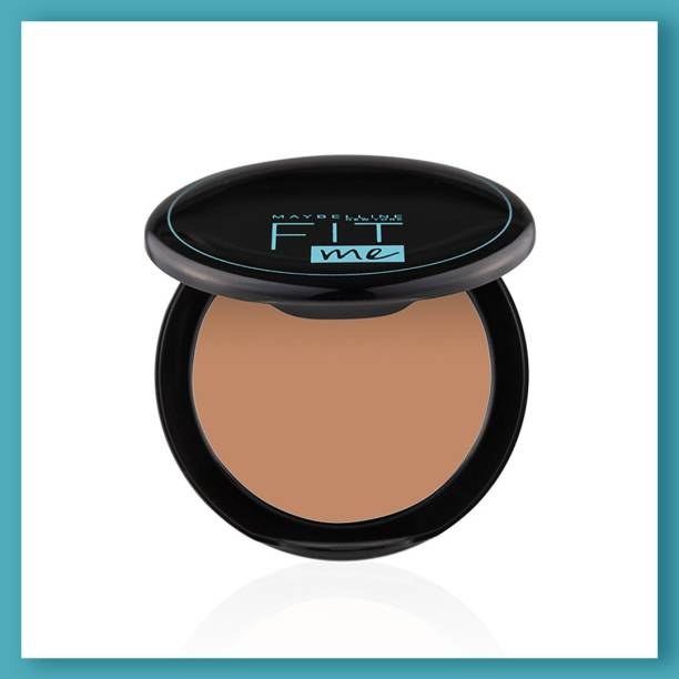 MAYBELLINE NEW YORK Fit Me Shade 310 Compact Powder, 8g - Powder that Protects Skin from Sun, Absorbs Oil, Sweat and helps you to stay fresh for upto 12Hrs Compact