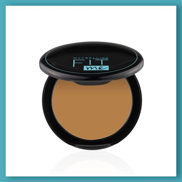 MAYBELLINE NEW YORK Fit Me Shade 330 Compact Powder, 8g - Powder that Protects Skin from Sun, Absorbs Oil, Sweat and helps you to stay fresh for upto 12Hrs Compact