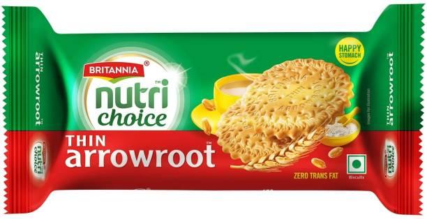 BRITANNIA NutriChoice Thin Arrowroot Biscuit