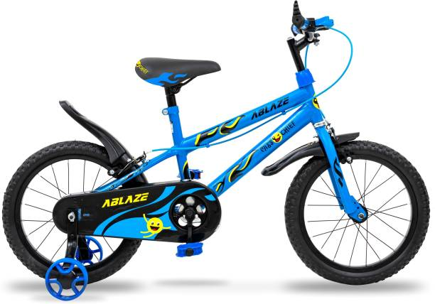 Miss & Chief Ablaze Durable Semi Assembled Kids Bicycle with Steel Rim 16T 16 T BMX Cycle