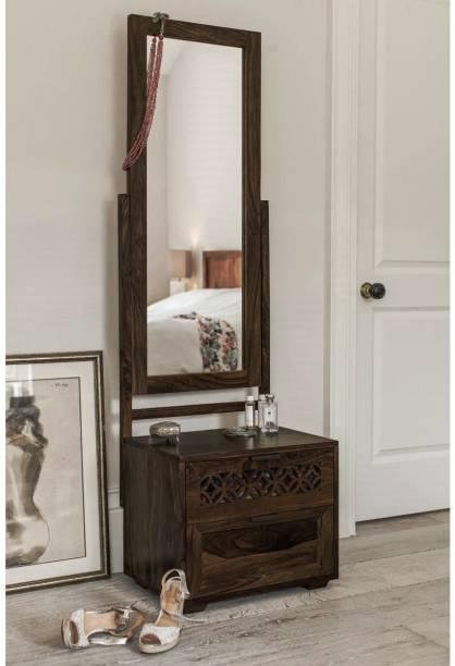 THE ATTIC Sheesham Wood Solid Wood Dressing Table