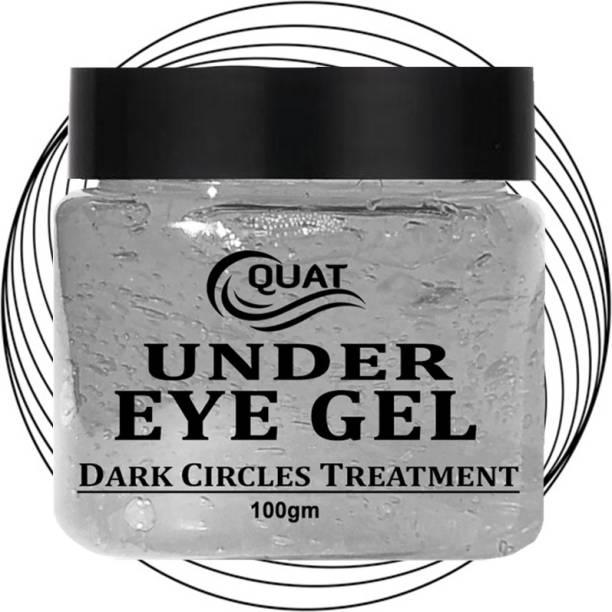 QUAT Gel Under Eye Patches Anti-Puffiness Skin Care Remover Dark Dircles Hyaluronic Acid Eye gel (100 g)