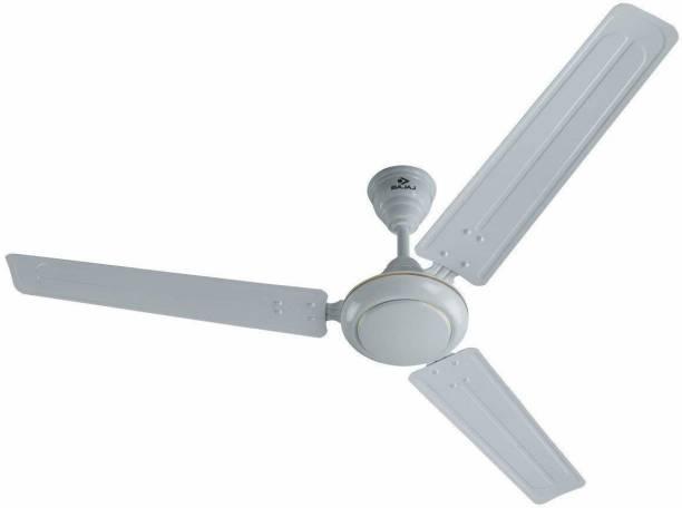 BAJAJ Sabse Tezz 1400mm White Celling Fan 251179 1400 mm Energy Saving 3 Blade Ceiling Fan