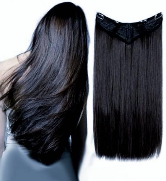 Alizz Black Short light weight hairpiece Hair Extension